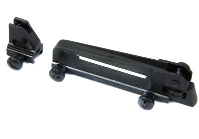 Ar15 Detachable Carry Handle Dual Apertures A2 Rear Sight